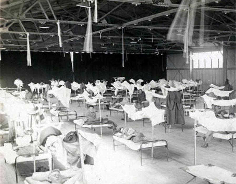 (FILE) USA DISEASES EPIDEMIC PANDEMIC SPANISH FLU
